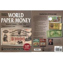@LIQUIDACION@ CATALOGO BILLETES MUNDIALES WORLD PAPER MONEY 1368 1960 Editorial Krause Edición 14th