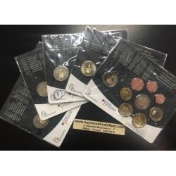 ALEMANIA 5 CARTERAS EURO 2015 Letras A+D+F+G+J BU SET SET 1+2+5+10+20+50 Centimos 1+2 EUROS 2015 + 2 Monedas 2€ CONMEMORATIVAS