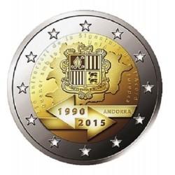 ANDORRA 2 EUROS 2015 ACUERDO ADUANERO CON EUROPA SC MONEDA CONMEMORATIVA COIN @RARA@ Fecha de emisión Andorra 2 Euros 2015
