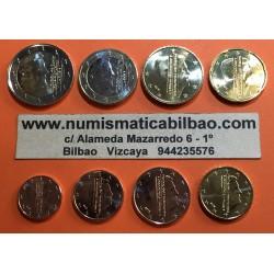 HOLANDA MONEDAS EURO 2014 SC : 1+2+5+10+20+50 Centimos + 1 EURO + 2 EUROS 2014 NUEVO REY GUILLERMO SERIE TIRA The Netherlands