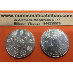 @NOVEDAD@ PORTUGAL 7,50 EUROS 2017 SERIE IBEROAMERICANA MARAVILLAS DE LA NATURALEZA MADEIRA MONEDA DE PLATA SC