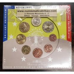 FRANCIA CARTERA OFICIAL EUROS 2011 SC 1+2+5+10+20+50 Centimos + 1 EURO + 2 EUROS 2011 UNC BU EUROSET KMS