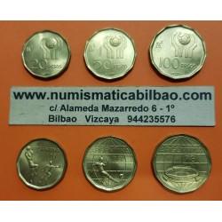 @OFERTA@ ARGENTINA TIRA DE 3 MONEDAS 10 PESOS + 20 PESOS + 50 PESOS 1977 MUNDIAL DE FUTBOL 1978 KM.74 75 76 LATON SC