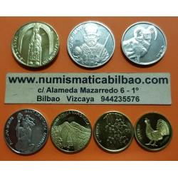 @OFERTA@ ANDORRA TIRA DE 7 MONEDAS 1+2+5+10+20+50 CENTIMOS + 1 DINER 2013 ANIMALES y SANTOS SC @ULTIMA EMISION ANTES DEL EURO@