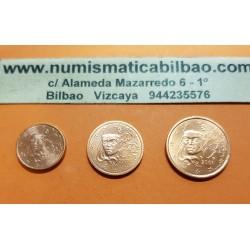 @OFERTA@ FRANCIA 1 CENTIMO 2001 + 2 CENTIMOS 2001 + 5 CENTIMOS 2001 DAMA MONEDAS DE COBRE SIN CIRCULAR @RARAS@
