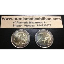MONACO 2 EUROS 2012 REY LUCIEN I @RARA@ SC BIMETALICA MONEDA CONMEMORATIVA