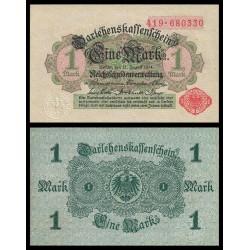 ALEMANIA 1 MARCO 1914 IMPERIO Pick 51 BILLETE SC GERMANY 1 Mark BANKNOTE