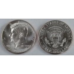 ESTADOS UNIDOS 1/2 DOLAR 2017 P JOHN FITZGERALD KENNEDY KM.202.A MONEDA DE NICKEL SC USA Half Dollar