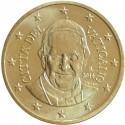 @OFERTA@ VATICANO 50 CENTIMOS 2014 PAPA FRANCISCO MONEDA DE LATON SC @1ª MONEDA EURO@