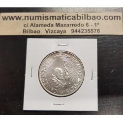 VATICANO 1000 LIRAS 1998 PAPA JUAN PABLO II 20 AÑOS DE PONTIFICADO KM.300 MONEDA DE PLATA SC @RARA@ 1000 Lire silver coin