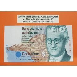 IRLANDA 10 LIBRAS 1996 ESCRITOR JAMES JOYCE Serie DDH Pick 76B BILLETE SC Central Bank Of Ireland EIRE 10 Pounds UNC BANKNOTE