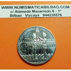 ASCENSION 50 PENIQUES 1996 GUARDIAS REALES 70 CUMPLEAÑOS DE ISABEL II KM.8 MONEDA DE NICKEL SC UK Colony 50 Pence