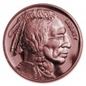 @COBRE 1 ONZA 2017@ ESTADOS UNIDOS Modulo 1 DOLAR 2017 JEFE INDIO MEDALLA DE COBRE SC USA 1 OZ 999 COPPER INDIAN HEAD