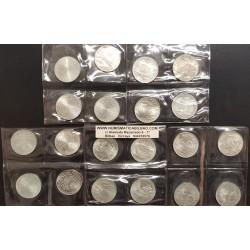 @LOTE DE 20 MONEDAS@ ALEMANIA 10 MARCOS 1972 D+F+G+J OLIMPIADA DE MUNICH 72 PLATA SC Germany 10 Marks silver