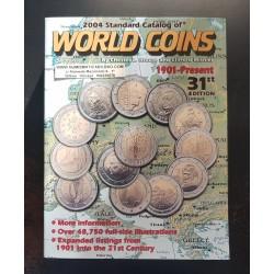 . CATALOGO MONEDAS WORLD COINS 1901 - 2000 Krause Edic. 43th