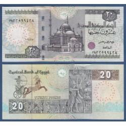 EGIPTO 20 LIBRAS 2016 FARAONES y GRABADOS (NUEVO DISEÑO) Pick 65 BILLETE SC Egypt 20 Pounds UNC BANKNOTE
