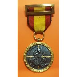 @CONDECORACION@ GUERRA CIVIL 1936 1939 MEDALLA DEL ALZAMIENTO EN CAMPAÑA CON RIBETE NEGRO España