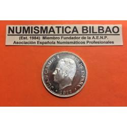 @OFERTA@ ESPAÑA 1977 MEDALLA DE PLATA XX CONVENCION NUMISMATICA REY JUAN CARLOS I