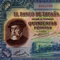 SPAIN BANKNOTES 1900/2002