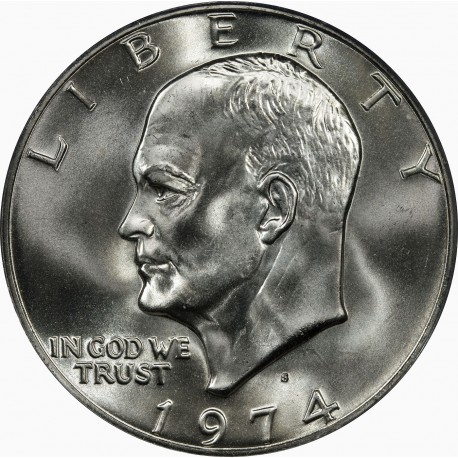 ESTADOS UNIDOS 1 DOLAR 1974 P EISENHOWER NICKEL SC DOLLAR US
