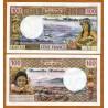 . NUEVAS HEBRIDAS 100 FRANCOS 1970 Pick 18 SC New Hebrides VANUA
