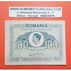 RUMANIA 100 LEI 1945 REY MIGUEL I 2ª GUERRA MUNDIAL Pick 78 BILLETE SC @SOMBRA@ Romania UNC BANKNOTE WWII
