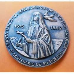 . 1988 ESPAÑA MEDALLA FNMT CARLOS III BICENTENARIO PESETAS PLATA