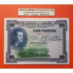 100 PESETAS 1925 JULIO 1 FELIPE II Serie F 9236338 SC ESPAÑA