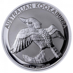 AUSTRALIA 1 DOLAR 2011 KOOKABURRA PLATA SC SILVER DOLLAR