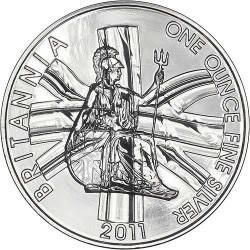 INGLATERRA 2 LIBRAS 2011 BRITANNIA PLATA SC SILVER £2 POUNDS
