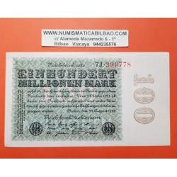 . ALEMANIA WEIMAR 100.000.000 1923 PICK 107 SC- BILLETE