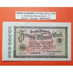 . ALEMANIA WEIMAR 20.000.000 MARCOS 1923 TREN Pick 1015 SC- BILL
