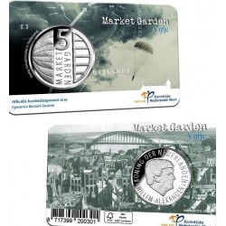 HOLANDA 5 EUROS 2019 3ª Moneda MARKET GARDEN SC @COINCARD@ The Netherlands