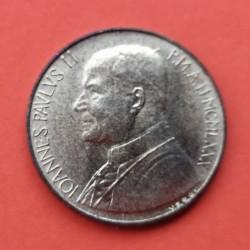 VATICANO 200 LIRAS 1987 JUAN PABLO II KM*203 LATON SC Lire