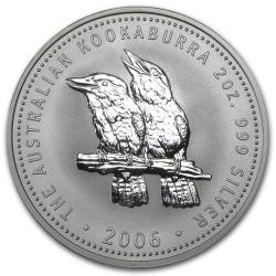 AUSTRALIA 1 DOLAR 2006 KOOKABURRA PLATA SC SILVER DOLLAR