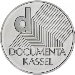 ALEMANIA 10 EUROS 2002 Ceca J PLATA SC DOCUMENTA KASSEL