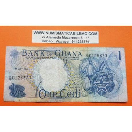 GHANA 1000 CEDIS 1996 Pick 29B SC UNC BILLETE BANKNOTE