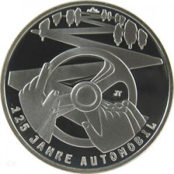 ALEMANIA 10 EUROS 2011 F NICKEL SC 125 ANIV. AUTOMOVIL