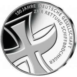 . ALEMANIA 10€ EUROS 2015 Ceca J CRUZ ROJA Nickel SC