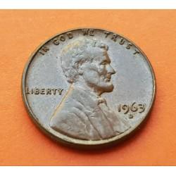 USA 1 CENTAVO 1961 D LINCOLN COPPER UNC US