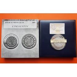 ..ESPAÑA 50€ EUROS 2008 GUERRA INDEPENDENCIA PLATA Cincuentín