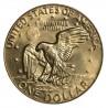 ESTADOS UNIDOS 1 DOLAR 1978 P EISENHOWER y AGUILA SOBRE LA LUNA KM.203 MONEDA DE NICKEL SC USA $1 Dollar