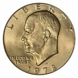 USA 1 DOLLAR 1978 D EISENHOWER NICKEL UNC
