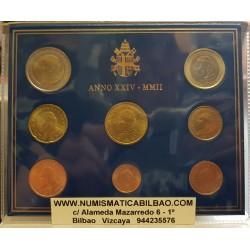 VATICANO CARTERA EUROS 2004 SET 1+2+5+10+20+50 Centimos 1+2€