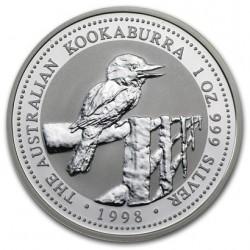 AUSTRALIA 1 DOLAR 1998 KOOKABURRA PLATA SC SILVER DOLLAR