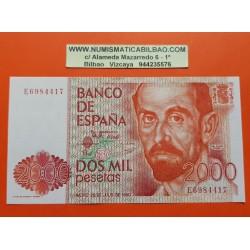 . ESPAÑA 2000 PESETAS 1980 JULIO 22 J.R. JIMENEZ Serie M SC