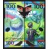 . RUSIA 100 RUBLOS 2014 OLIMPIADA SOCHI Pick 274 SC RUSSIA ROUBL