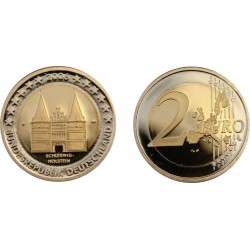 GERMANY 2 EURO 2006 HOLSTEIN UNC BIMETALLIC