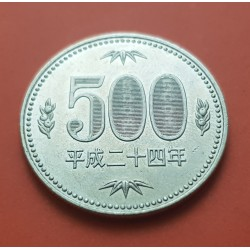 . .5 MONEDAS JAPON 100 YEN 2015 TREN/FERROCARRILES NICKEL SC