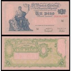 . ARGENTINA 5000 PESOS 1977 1983 GENERAL SAN MARTIN Pick 305 SC